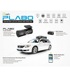 Nefu Plabo 2 Channel Car Camera / DVR / Dash Cam (Korea)