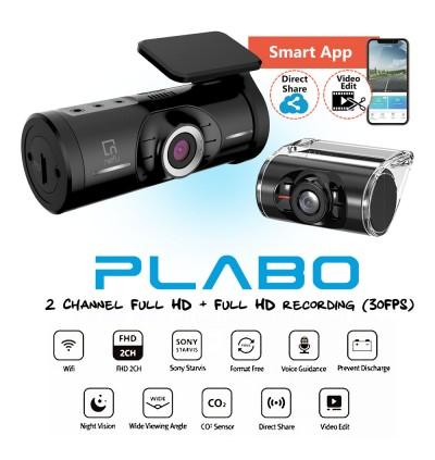 Nefu Plabo 2 Channel Car Camera / DVR / Dash Cam (Korea)
