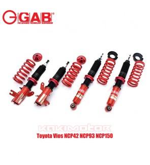 GAB HE-Toyota Vios NCP42 NCP93 NCP150 Hi Lo Bodyshift Adjustable Suspension